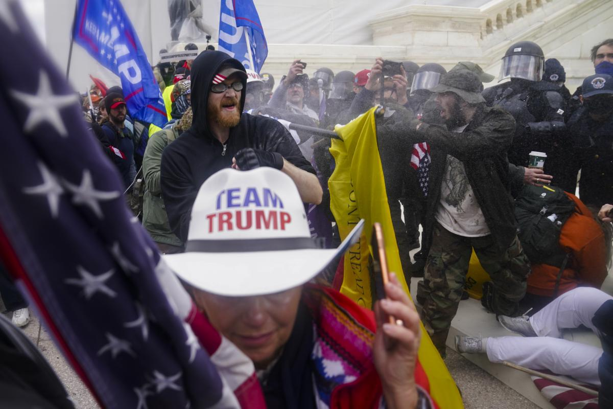ALT-RIOT Inflammatory rhetoric and conspiracy theories fueled the Jan. 6 mob attack on the Capitol.