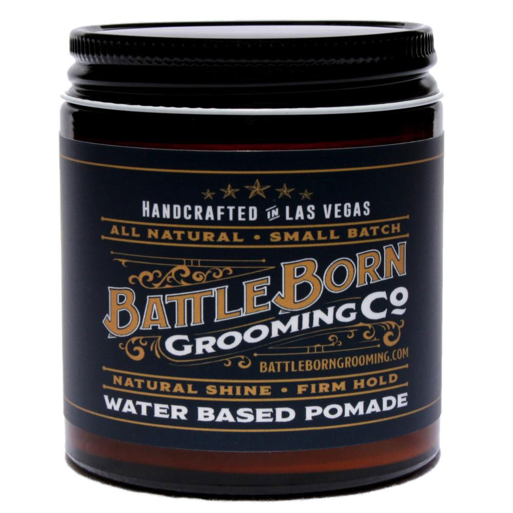 Battle Born Grooming Co Water Based Pomade