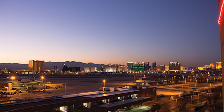 In plane sight: The view from McCarran