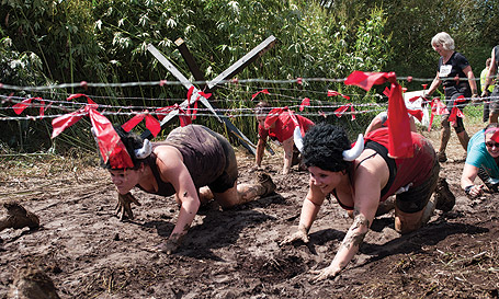 Mud, sweat and tears: Warrior Dash