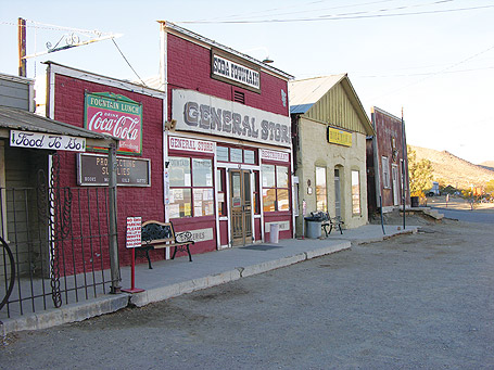 The sleepy vibe of Randsburg belies a ghost town rich in history