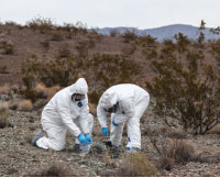 Metcalf and Buck hope to determine how prevalent asbestos is in local soil.