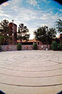 Path time: The labyrinth at St. Rose Dominican Hospital San Martin Campus