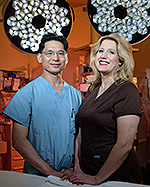 Dr. Barber and Dr. Wang