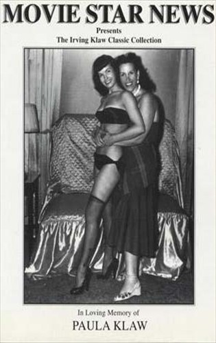 Bettie Page and Paula Klaw