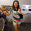 Keiko Tabeb, founder and designer, Asanoha Love baby carriers