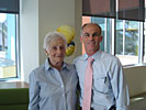 Dr. Charles Bernick and his Mom