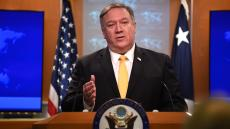 Mike Pompeo announcing suspension of 1987 Treaty