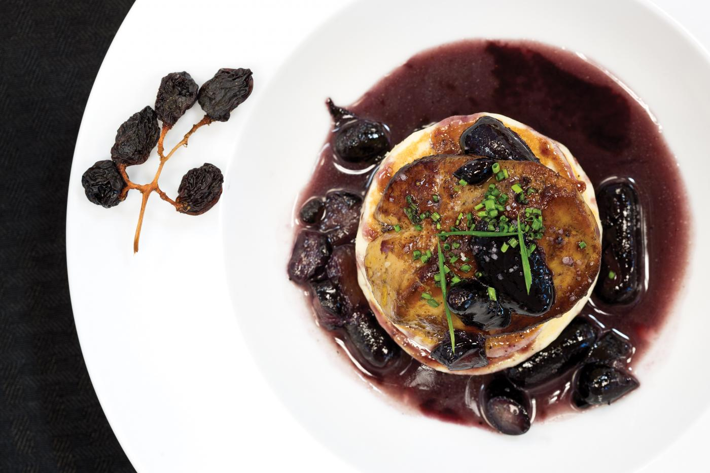 Griddle me this: Artisanal Foods'  pancakes with foie gras