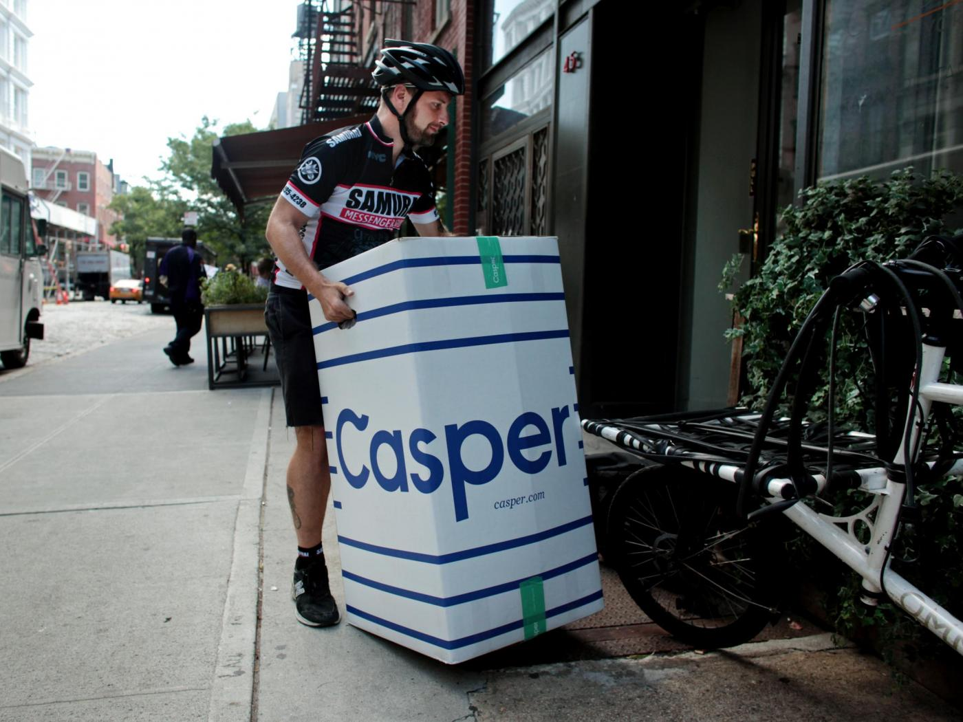 """Casper changed mattress shopping with the promise of a 100-night """"risk-free"""" trial and easy returns. Now the cost of those returns is being scrutinized as the online company prepares to go public."""