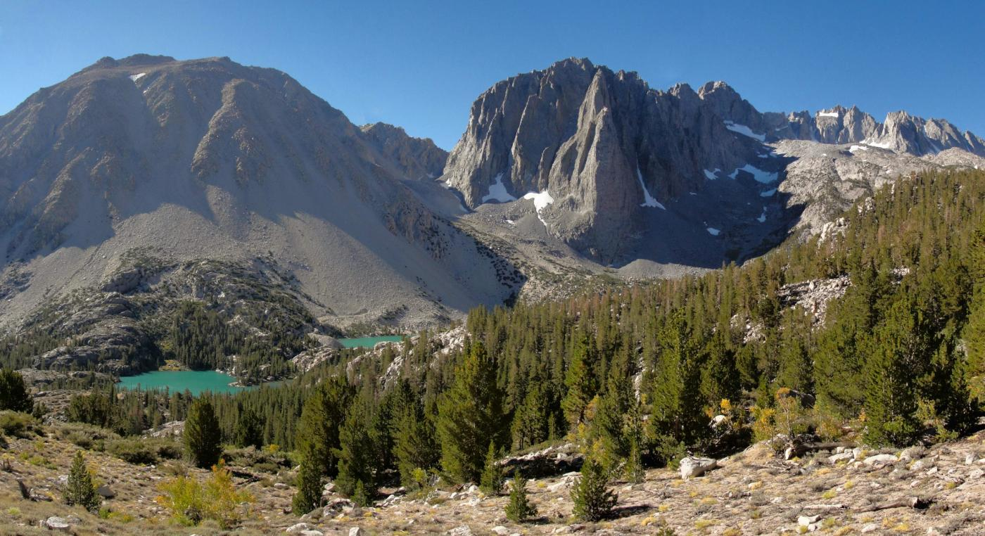 Mount Alice and Temple Crag Sierra Nevada