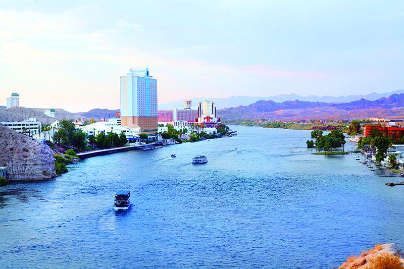 The Laughlin Waterfront
