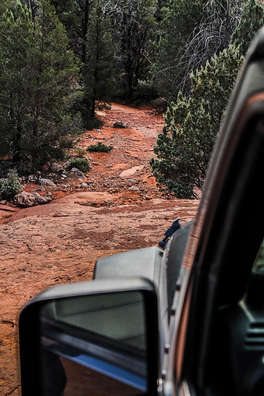 """Wheeling"" in Sedona is a bumpy affair, but there are many opportunities to take in amazing views."