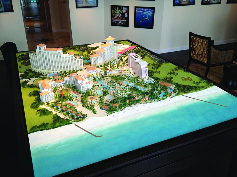 Model for Baha Mar resort