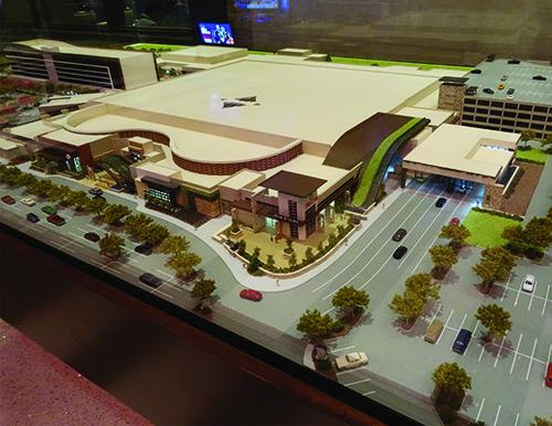 Model for Graton Resort & Casino