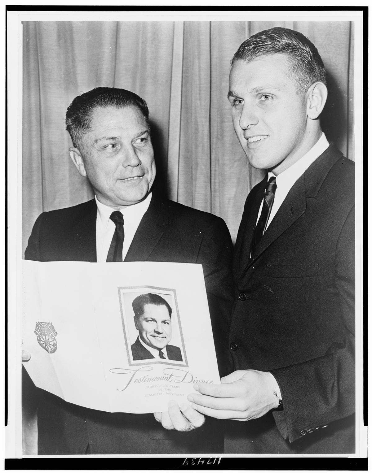 The Mob Museum gathers writers Dan Moldea and Scott M. Burnstein, and lawyer Stanley Hunterton to sort out what happened to Jimmy Hoffa.