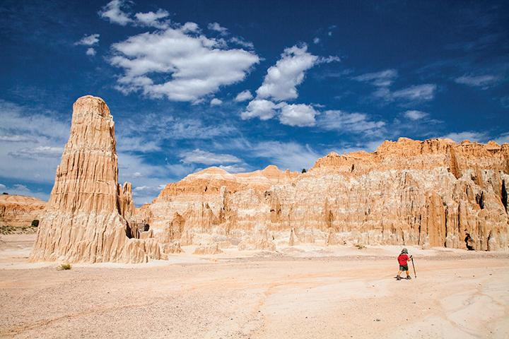 Cathedral Gorge is only three hours away, but its endless slots and narrows beg for an overnight stay in the park.