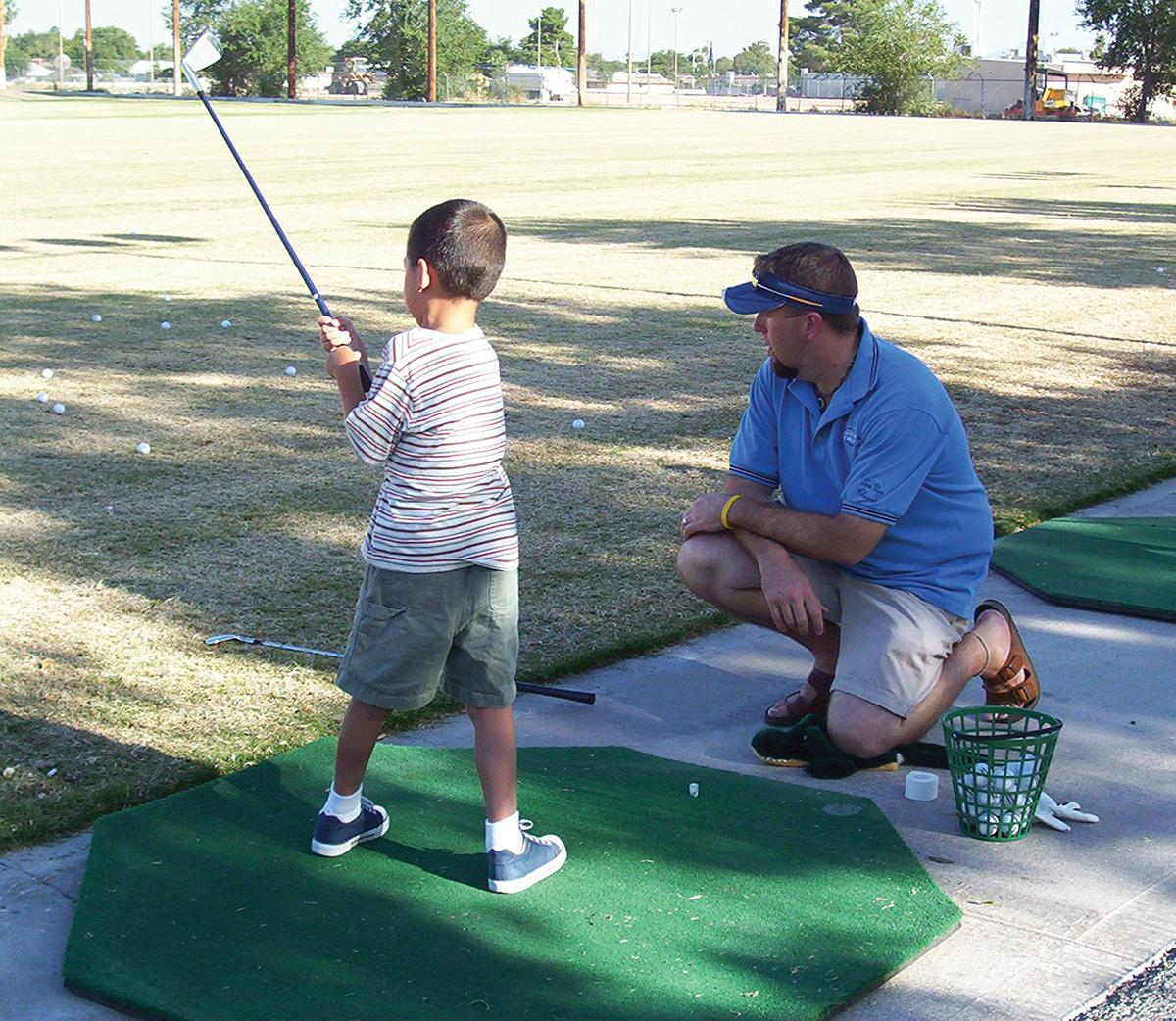 Hole-in-one fun: Sticks for Kids teaches golf to youth ages 6-17.