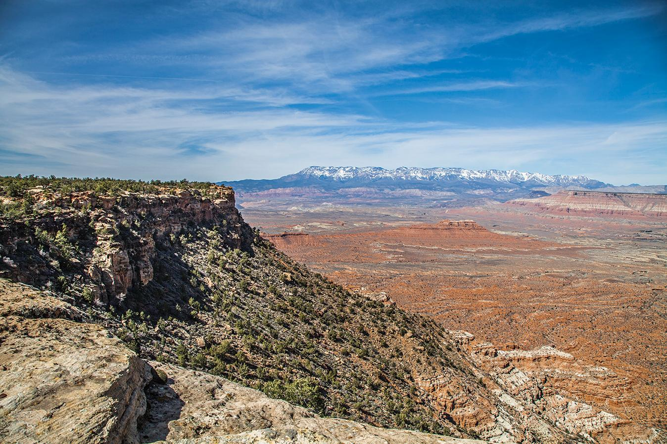 Gooseberry Mesa offers challenging rock-hopping