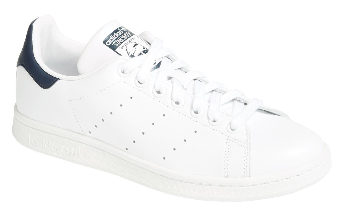 Adidas men's Stan Smith sneaker in blue