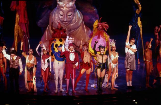 Nouvelle Experience, a February 1995 performance of Mystere at Treasure Island