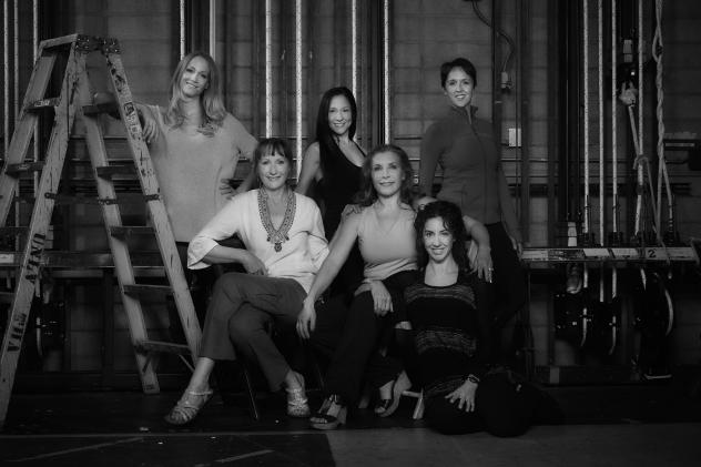 Among the dozen current and former Las Vegas dancers who told Desert Companion their stories of injury and illness were (left to right, standing), Stephanie Smith, Jacky Pagone, Clare Tewalkt, (seated) Linda Le Bourveau, Michele chovan-Taylor and Rachael