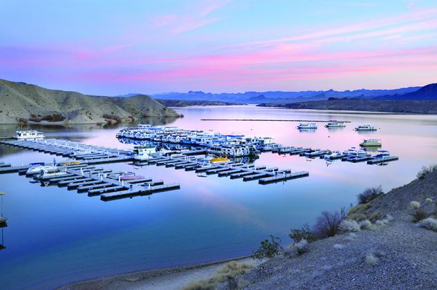 Cottonwood Cove at Lake Mead