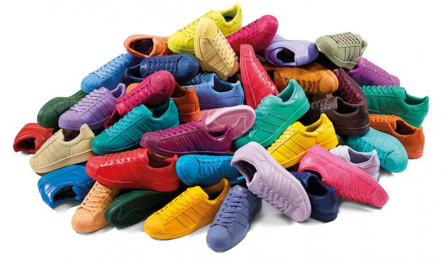 Pharrell Adidas Superstar Supercolor