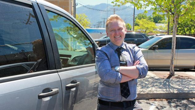 Therapist Kiki Radermacher was one of the first members of a mobile crisis response unit in Missoula, Mont., which started responding to emergency mental health calls last year. That pilot project becomes permanent in July and is one of six such teams in