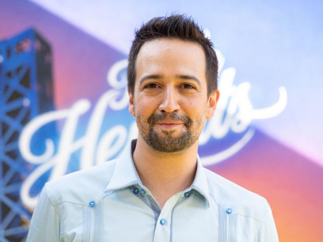 Lin-Manuel Miranda attends the premiere of 'In The Heights' last Wednesday in New York City.