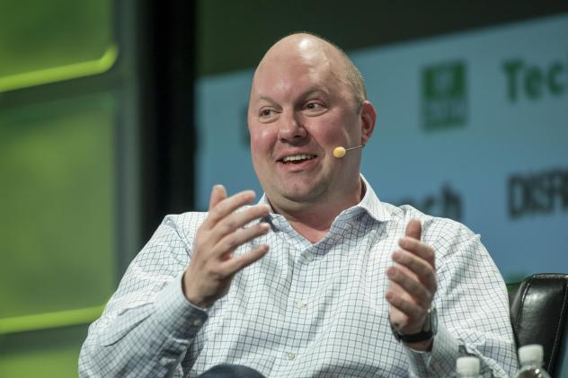 Marc Andreessen, co-founder and general partner of Andreessen Horowitz. The venture capital firm recently launched a media property recently known as Future, the latest in a string of Silicon Valley companies making in-house publications aimed at friendl