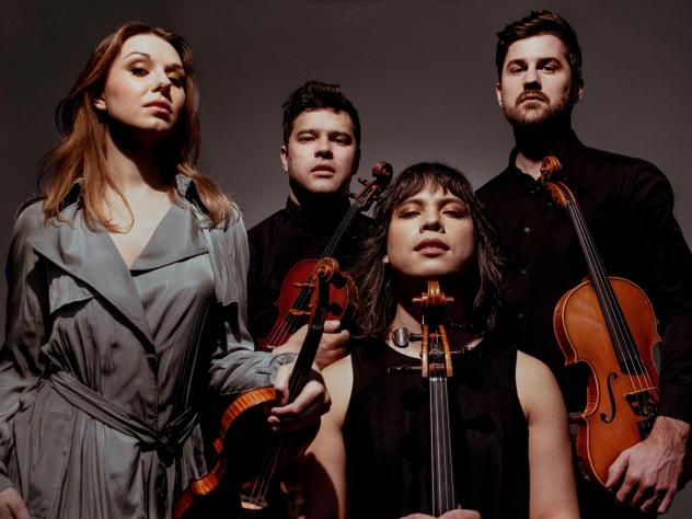 Attacca Quartet members Amy Schroeder, Domenic Salerni, Andrew Yee and Nathan Schram dig into dance music on their new CD.