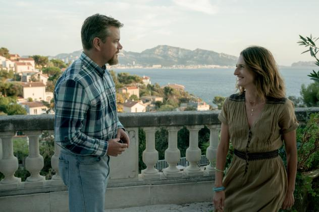 <em>Stillwater</em> centers on an Oklahoma oil worker (Matt Damon) who seeks the help of a French theater actress (Camille Cottin) when his daughter is accused of murder in Marseille, France.