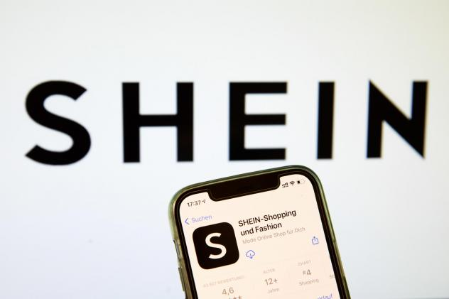 In this photo illustration, a Shein App in the IOS App Store on May 03, 2021 in Bargteheide, Germany.