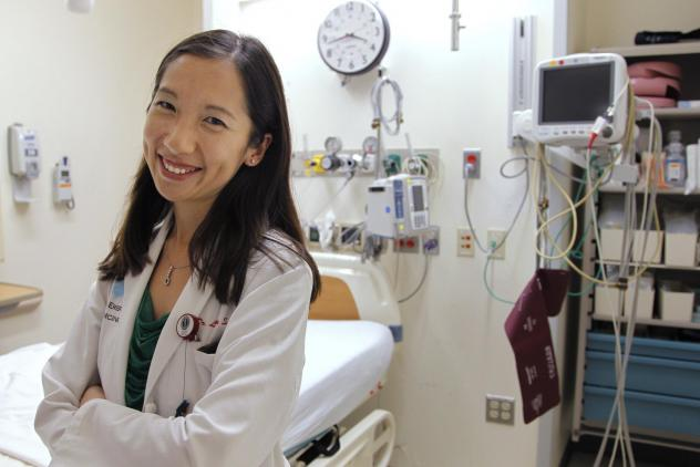 """Dr. Leana Wen is in favor of COVID-19 vaccine mandates. """"I don't think that people should have the choice to infect others with a potentially fatal and extremely contagious virus,"""" she says. Wen is pictured above in the emergency department at Brigham an"""