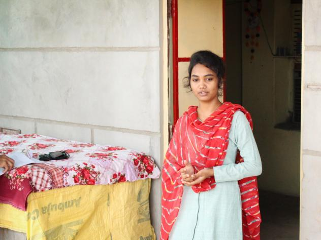 Komal Rana, 19, a student in the Veerni Institute program, has faced relentless pressure to  marry ever since India's pandemic lockdown sent her home to her hamlet of Jhalamand near the city of Jodhpur.