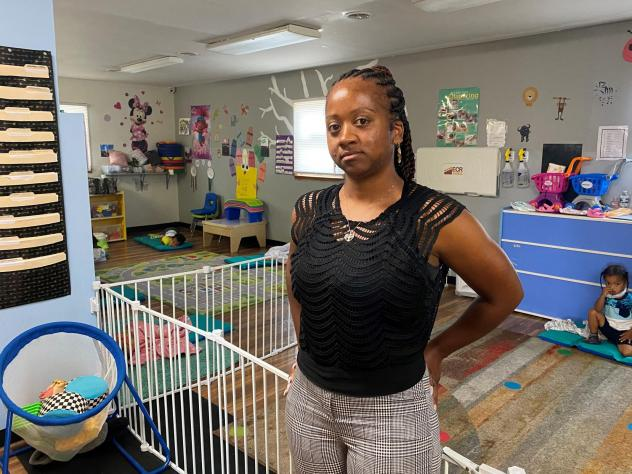 Latoya Beatty, owner of Little Pandas Learn-N-Play in Martinsburg, W.Va., has had trouble hiring day care teachers. She recently raised her starting wage from $10 an hour to $12.