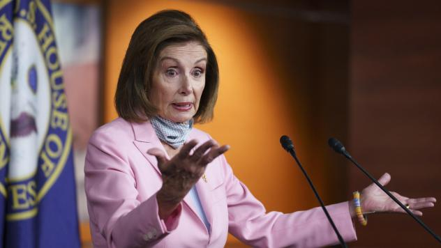 Speaker of the House Nancy Pelosi says at a Wednesday morning press conference that by traveling to Afghanistan, the representatives diverted resources from the evacuations.