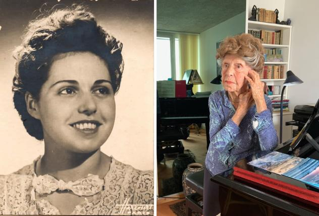 Colette Maze, now 107 years old, began playing the piano at age 5 and defied the social conventions of her day to embrace it as a profession rather than as a pastime. Her son first arranged for her performances to be recorded when she was in her 90s. She