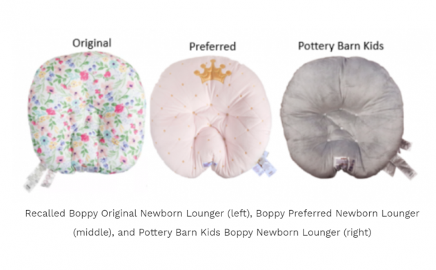 The Boppy Co. has recalled more than 3 million of its newborn loungers due to suffocation risks after the deaths of eight infants.