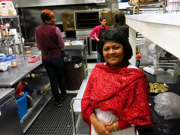 Rachel Bunkete fled the Democratic Republic of Congo  in 2008, leaving her husband and three children. She is now the lead chef at Upohar in Lancaster, Pa., a restaurant and catering service that hires primarily refugees.