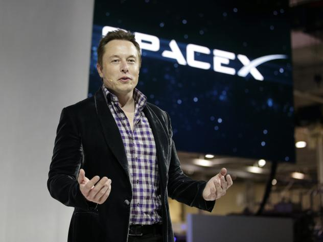 SpaceX CEO Elon Musk.