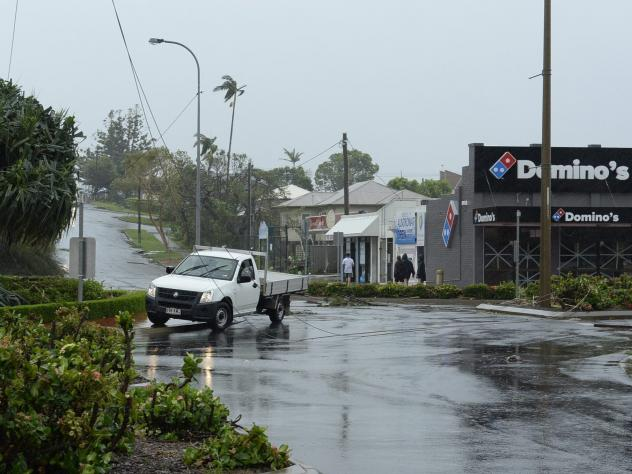 The aftermath of Tropical Cyclone Marcia in Yeppoon, Queensland, Australia, on Friday. The small town on the Capricorn Coast is bearing the brunt of the wild weather. Another cyclone has made landfall on the country's north coast.
