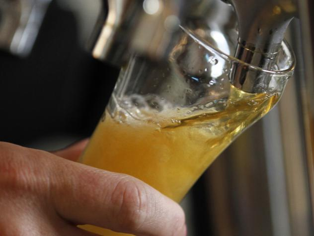 """""""There's a lot of stress involved. We have 14,000 pounds of stainless steel arriving in two days,"""" Thor Cheston of Right Proper Brewing Company says. """"It's a lot of fun though."""""""