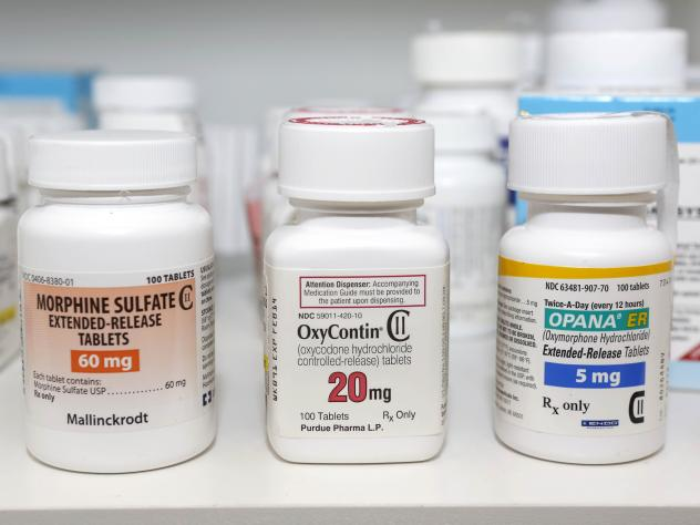 Schedule 2 narcotics Morphine Sulfate, OxyContin and Opana. Liquefied as an injectable, Opana has been connected to a major abuse problem in rural southern Indiana.