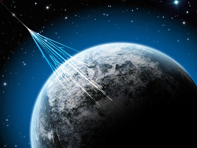Smart phones contain a silicon chip inside the camera that might be used to detect rare, high energy particles from outer space.