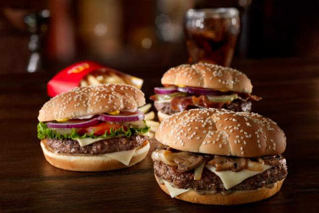 The new Sirloin Third Pound burgers will be offered at McDonald's starting later this month, for a limited time.