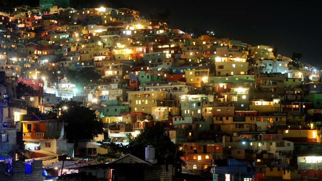 Night in Port-au-Prince, Haiti. Analysts warn a sudden energy shortage in the Caribbean could create security problems not far from U.S. shores and even trigger mass migration. But thanks to its domestic energy boom, the U.S. has a rare opportunity to ge