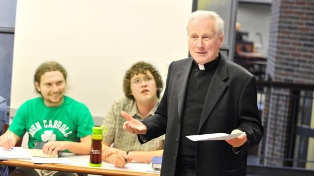 Archbishop Michael Fitzgerald is one of the Catholic Church's top experts on Islam. He has served the Vatican in places such as Tunisia, Uganda and Egypt, and now is promoting interfaith understanding by teaching Jesuit students in Cleveland about the Qu
