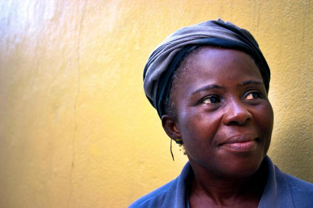 "Lucy Barh, head of the Liberian Midwives Association, says of the impending end of the Ebola outbreak: ""It is a joy, it is a joy. And I am so grateful to God. The Lord almighty has love for this nation. That is why we have come to this point."""